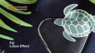 "Ramatuelle Swim Short ""Fiji"" Lotus Effect"