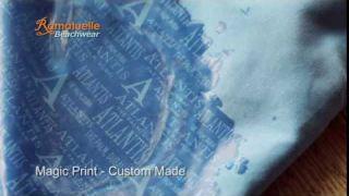"Ramatuelle Swim Short ""Magic Print"" Custom Made"